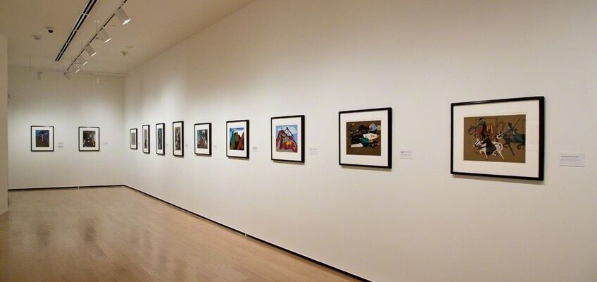 Jacob Lawrence: The Legend of John Brown, installation view