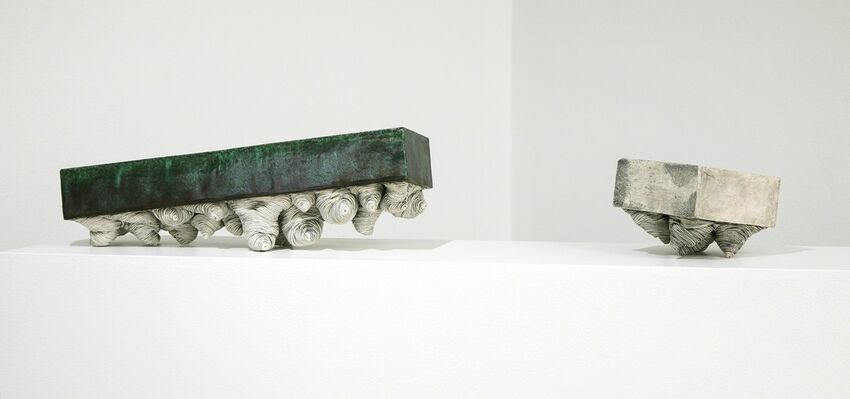 """Erik H Gellert """"Out of Square"""", installation view"""