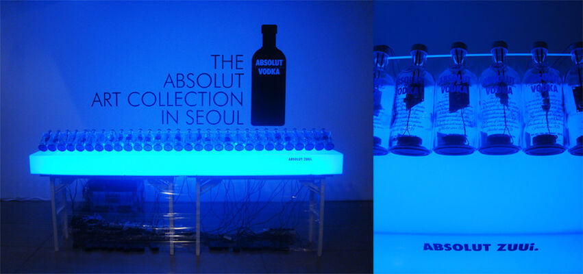 The Absolut Art Collection Tour, installation view
