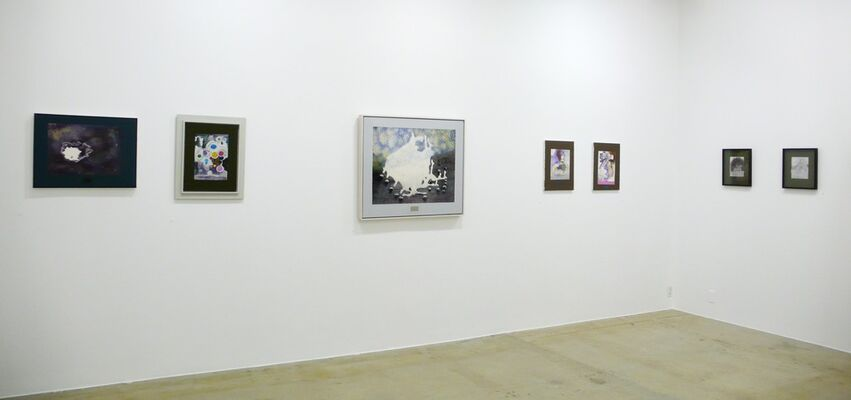 Michael Byron: Framed Abstractions 2005-2012, installation view