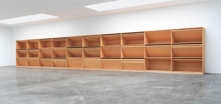 Donald Judd: Artwork: 1980, installation view