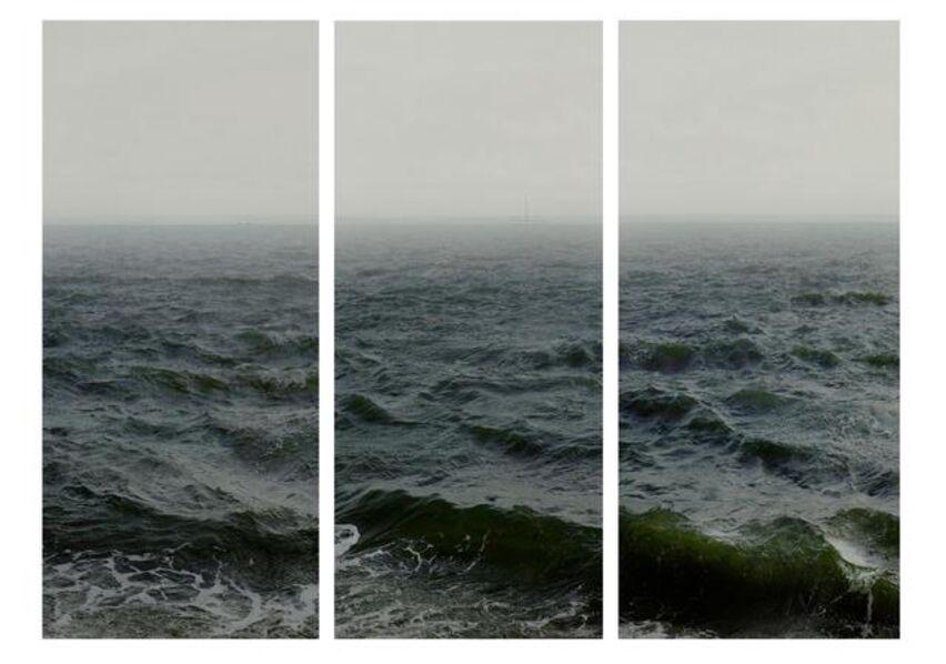 Nadav Kander, 'Water III, part 1,2 & 3, (Shoeburyness towards Isle of Grain)', 2015