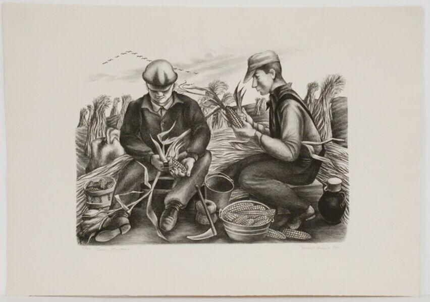 Ernest Fiene, 'Corn Huskers', 1934