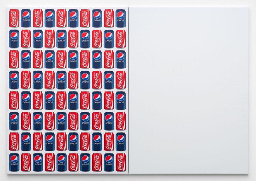 Jonathan Horowitz, 'Coke/Pepsi/ (80 Cans)', 2014