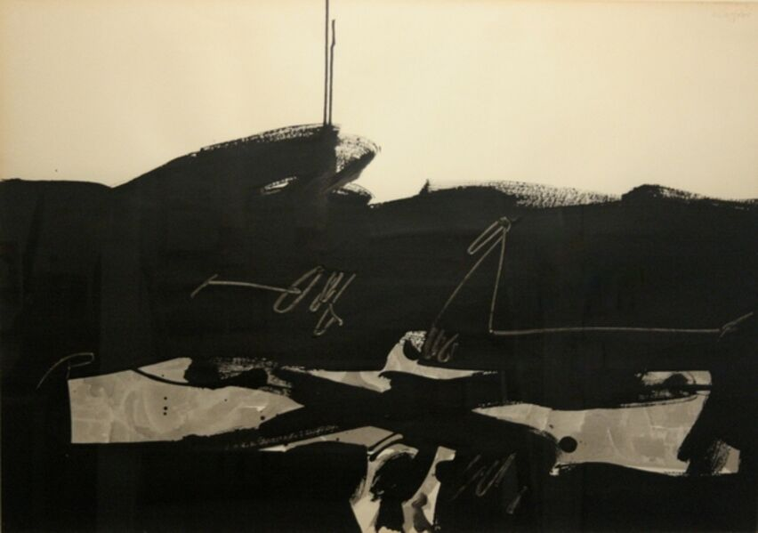 Manolo Millares, 'Untitled', 1968