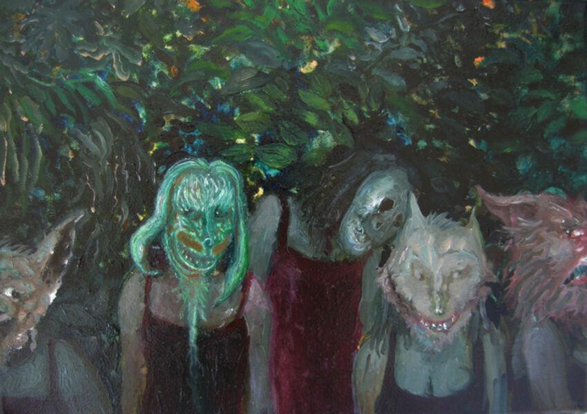 Thomas Braida, 'La regazza en rosso', 2012