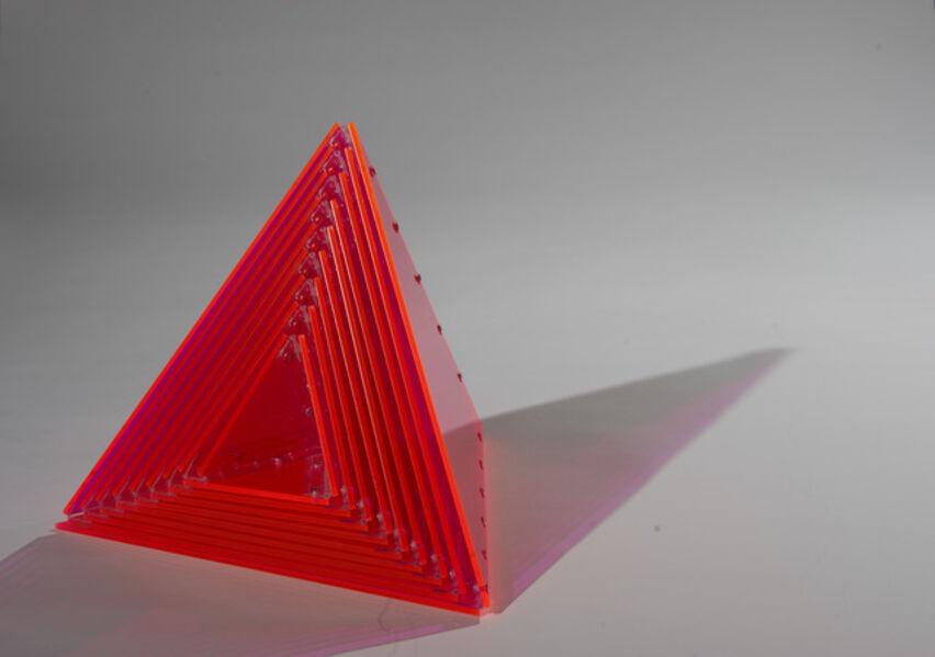 Marta Chilindron, 'Pyramid 18, Flourescent Pink ', 2009