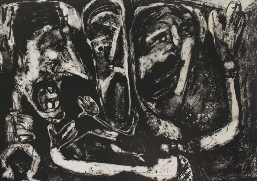 George McNeil, 'Rock Trio', 1984