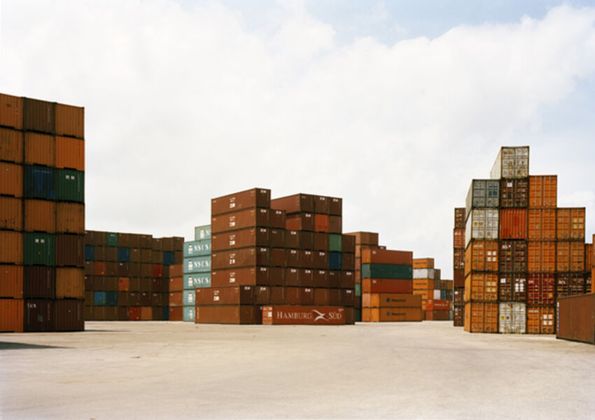 Victoria Sambunaris, 'Untitled (VS-15-11) Stacked Containers', 2015