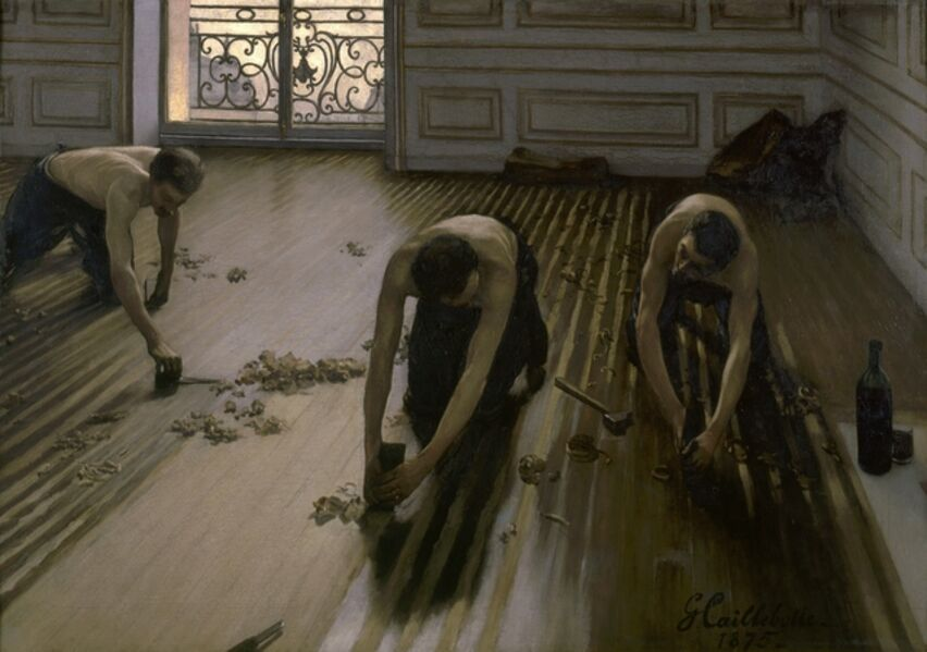 Gustave Caillebotte, 'The Floor Scrapers', 1875