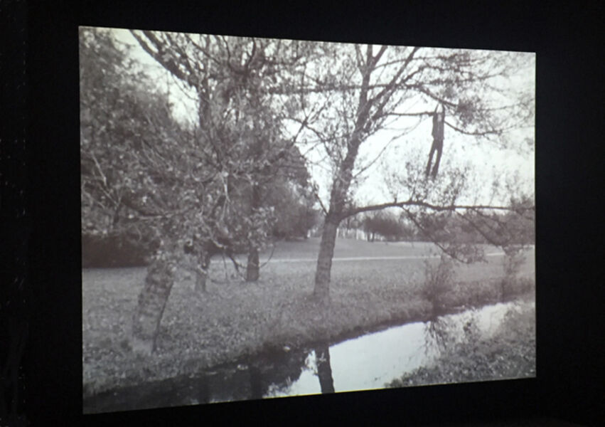Bas Jan Ader, 'Broken fall (organic), Amsterdamse Bos, Holland', 1971