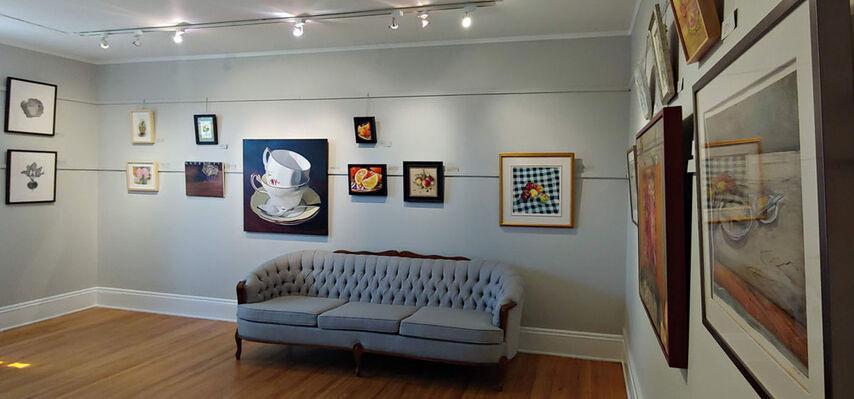 Still Life on Grey, installation view