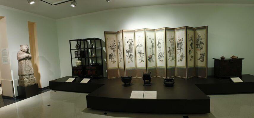 Korea, Land of the Diamond Mountains, installation view