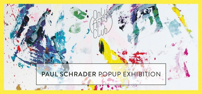 Paul Schrader PopUp Exhibition, installation view