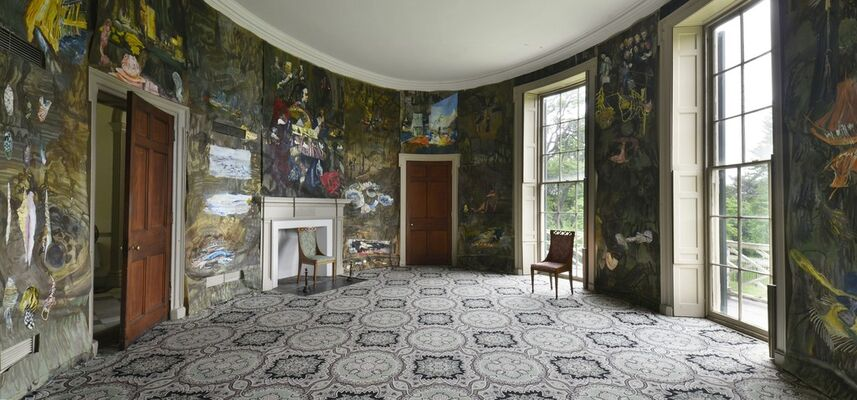 Jane Irish: Antipodes, Works from the Installation at Lemon Hill Mansion, installation view