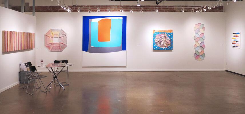 Taubert Contemporary at Dallas Art Fair 2016, installation view