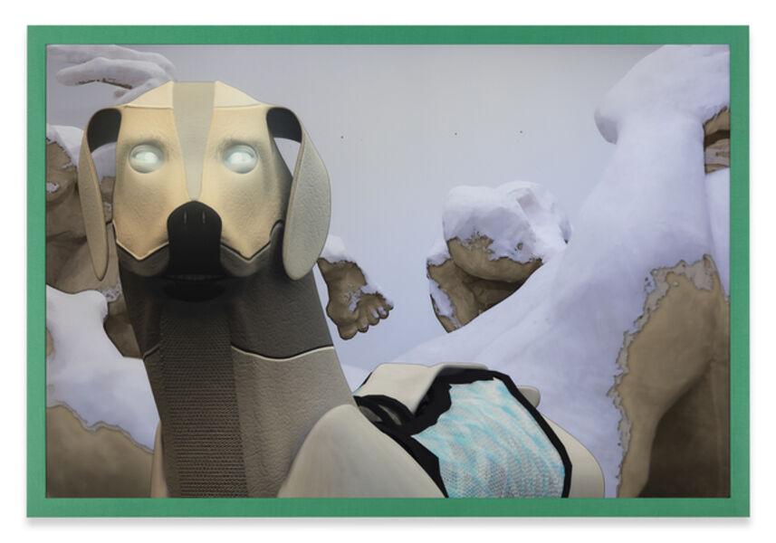 Ryan Trecartin, 'Peak Pooper, 2015 Animation Companion  Models 3D Docent Watch Dog Fitch / Trecartin, Animation Abuse - Sculptural Figures  Additional Credits Rhett LaRue: Docent Watch Dog 3D Modeling'