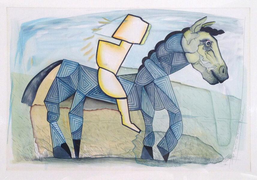 Luis F. Benedit, 'El azulejo de Funes', 1994