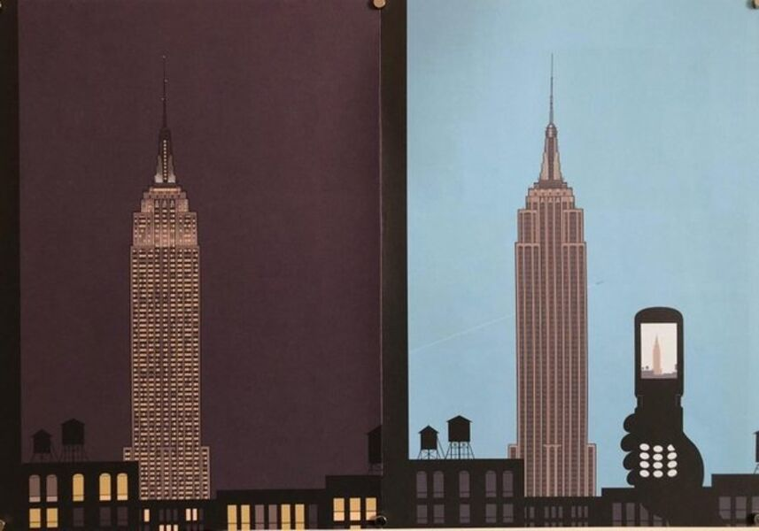 Chris Ware, 'Chris Ware New Yorker Cartoonist Limited Edition Thanksgiving Print NYC', 2000-2009
