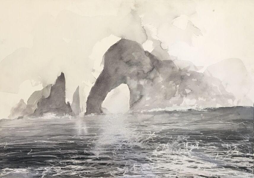 Norman Ackroyd, 'Cow Rock - Kerry', 2016