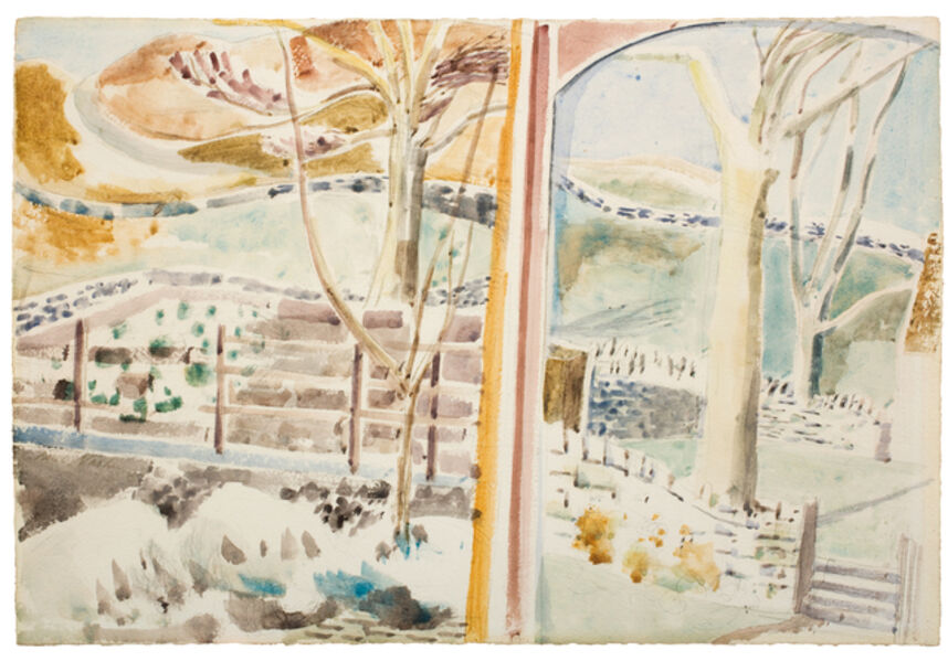 Paul Nash, 'The Landscape Through the Window and Through the Looking Glass', 1945