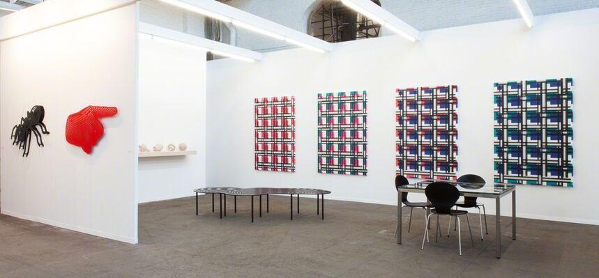 Galerie Mitterrand at Art Brussels 2016, installation view