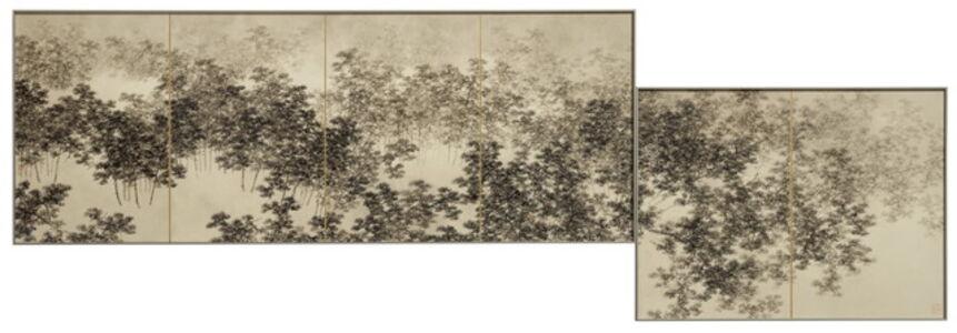 Koon Wai Bong, 'Pines Shrouded in Mist'
