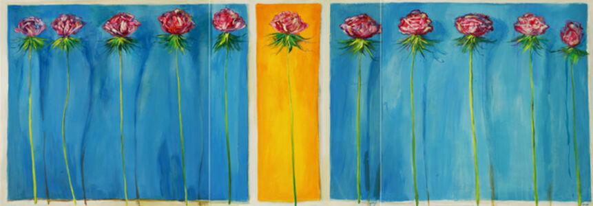 Lenner Gogli, 'Lovely Roses - Triptych', 2012