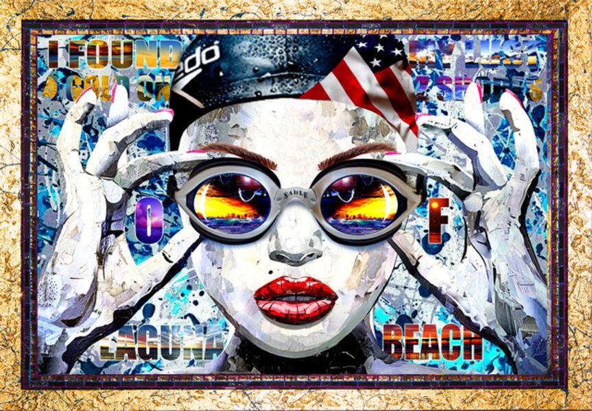 Brayden Bugazzi, 'Palmers Girl Olympic Gold Original Version', 2016
