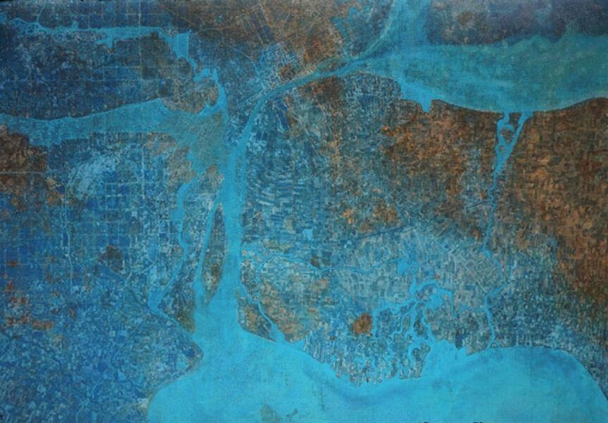 Renzo Bellanca, 'Satellite Map', 2020