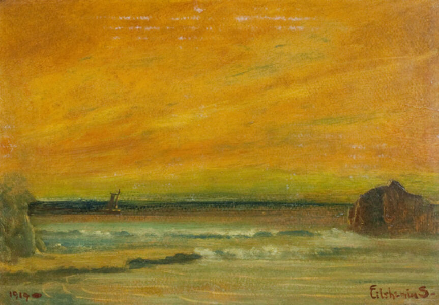Louis Michel Eilshemius, 'Beach Scene', 1919
