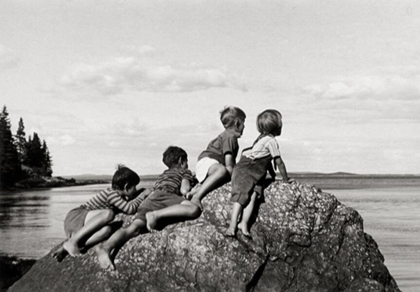 Ellen Auerbach, 'Great Spruce Head Island, Maine', 1940
