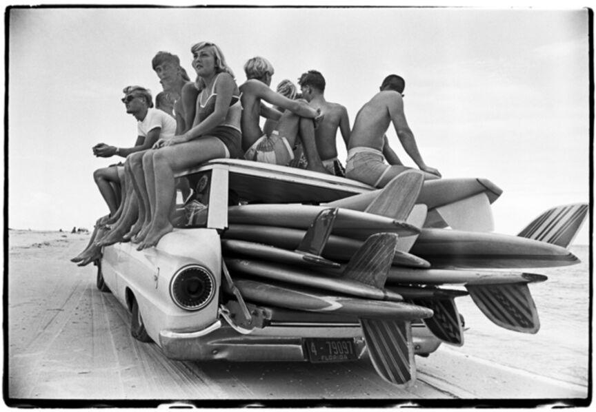 Al Satterwhite, 'Surf Wagon,  St. Petersburg Beach, FL', 1964