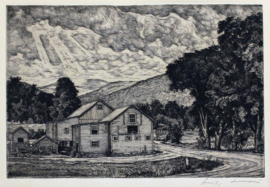 Luigi Lucioni, 'The Three Graces', 1950