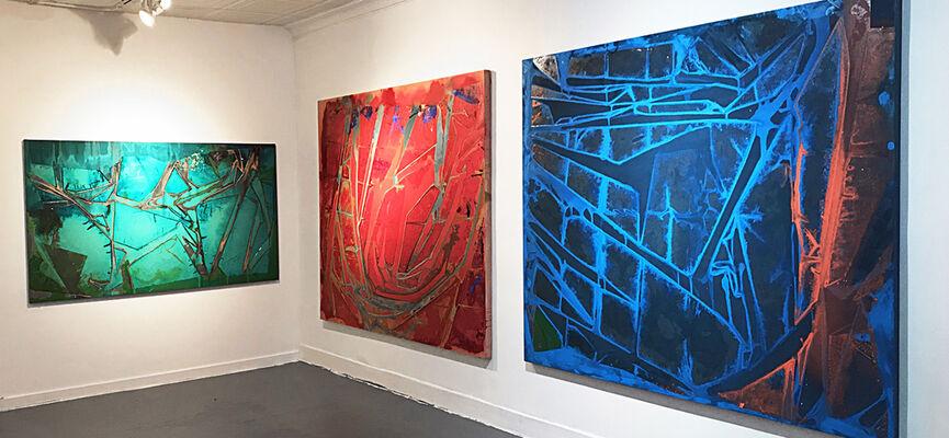 Jeffrey Kurland / New Paintings, installation view