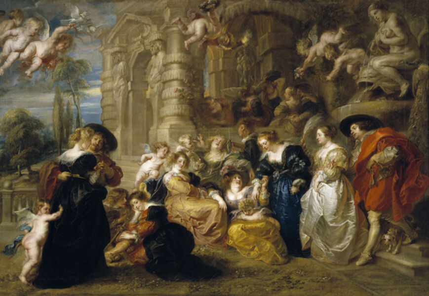 Peter Paul Rubens, 'Garden of Love', 1630-1632