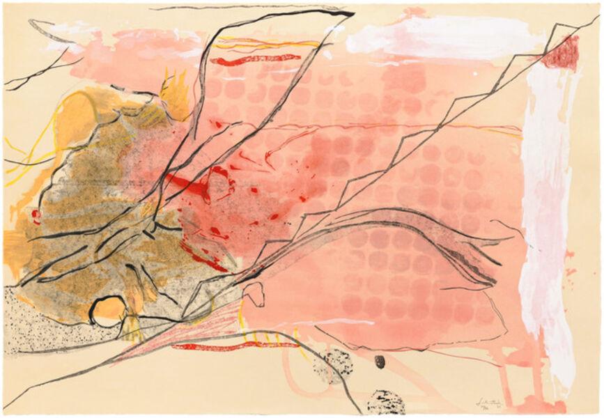 Helen Frankenthaler, 'Weeping Crabapple', 2009