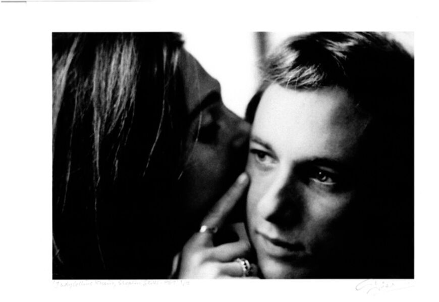 Graham Nash, 'Judy Collins Kissing Steven Stills, 1969', 2016