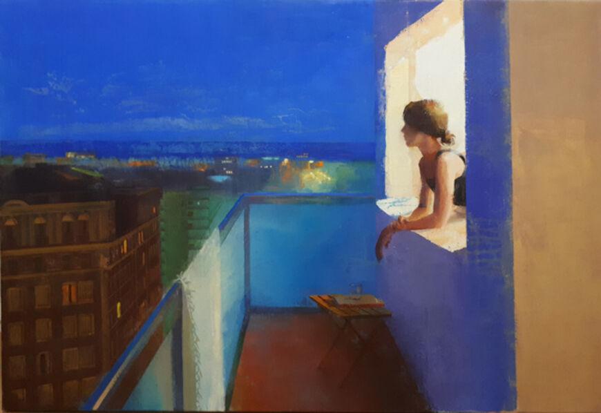 Alejandra Caballero, 'La noche y la ciudad', 2019