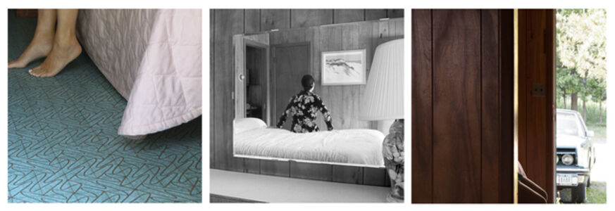 Barbara Probst, 'Exposure #123.8, Greenport, N.Y., Silversands Motel, 1400 Silvermere Road, 06.12.17, 5:58 pm', 2017