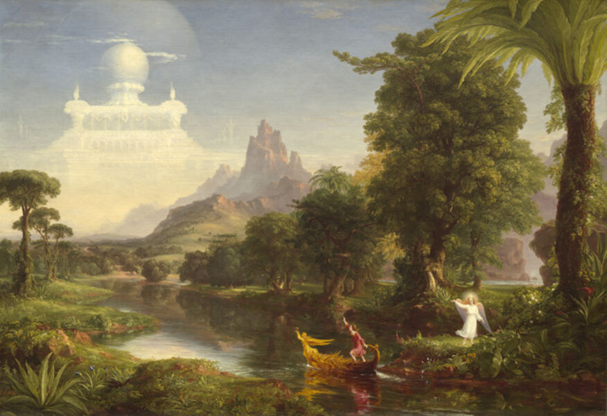 Thomas Cole, 'The Voyage of Life: Youth', 1842