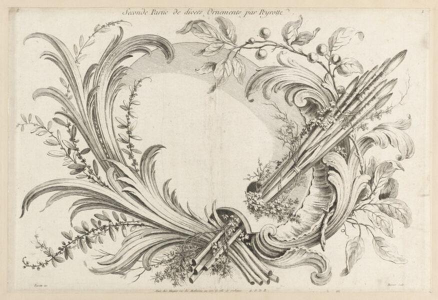 Alexis Peyrotte, 'Seconde Partie De Divers Ornements par Peyrotte', 1740