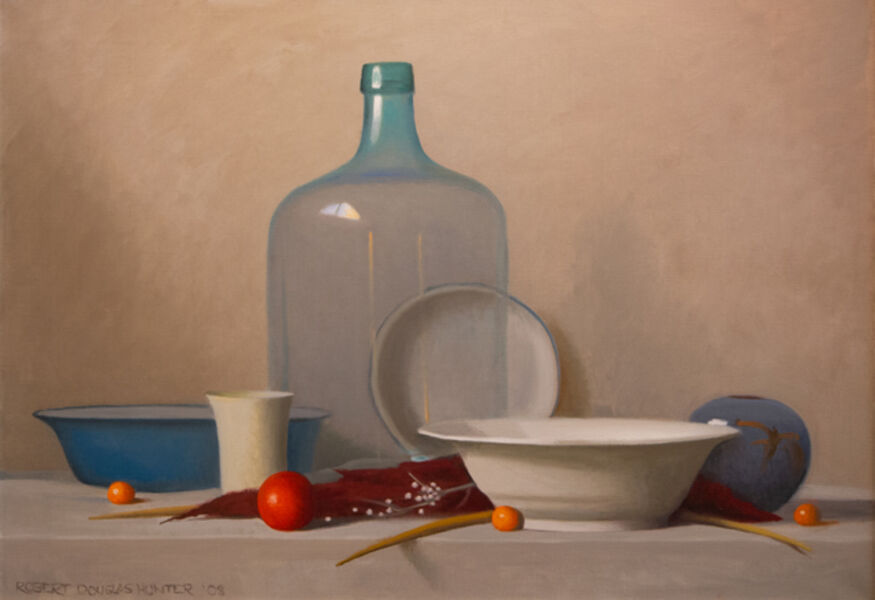 Robert Douglas Hunter, 'Arrangement with a Clear Glass Bottle', 2003