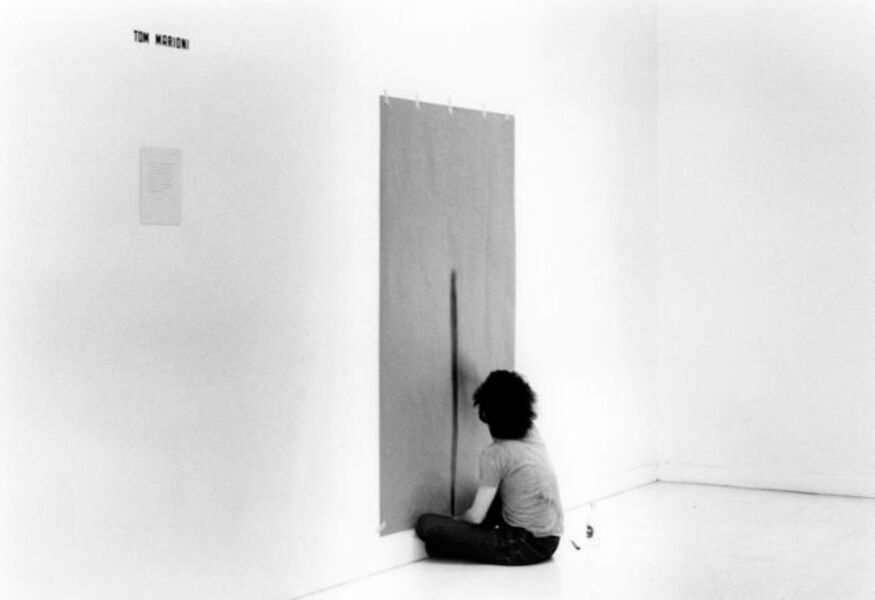 Tom Marioni, 'Drawing a Line as Far as I Can Reach', 1972/2013