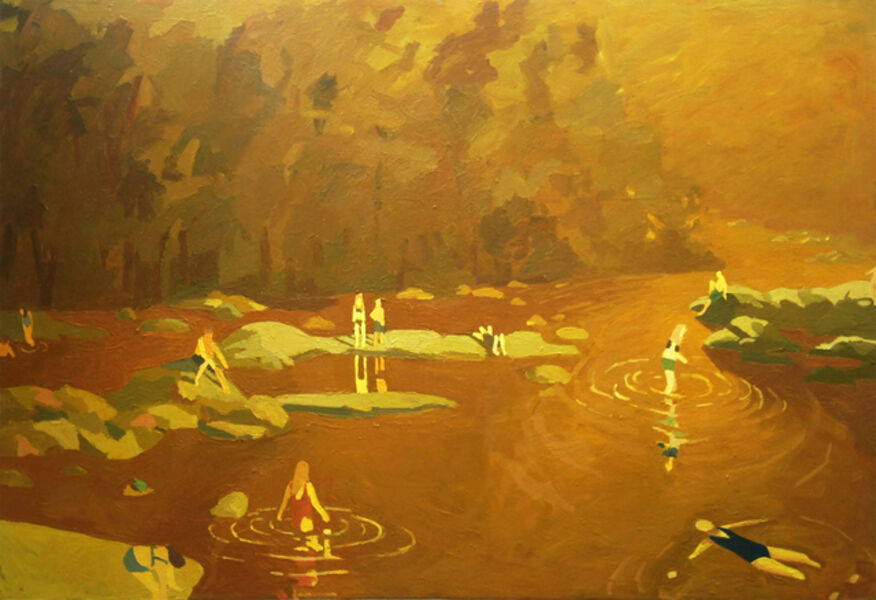 Sophie Treppendahl, 'Gold James ', 2017