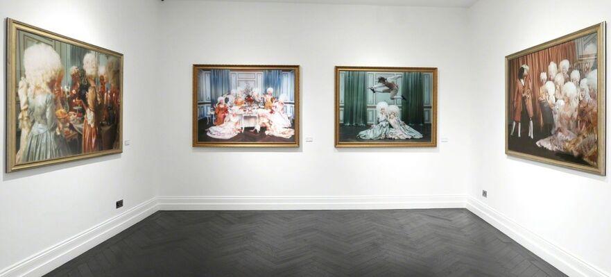 Tyler Shields - Decadence, installation view