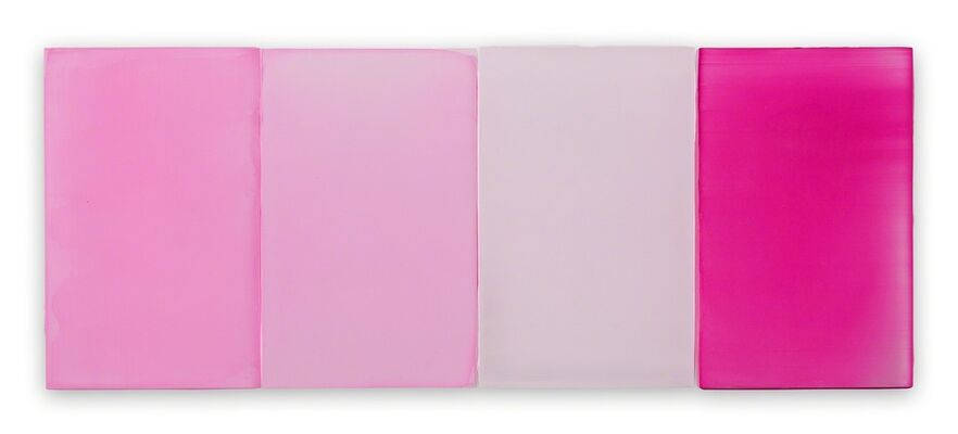 Pink Abstraction, installation view