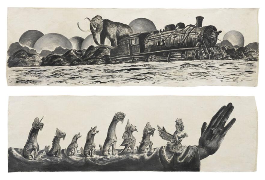 Sun Xun 孫遜, 'Mythological Time (details)', 2016
