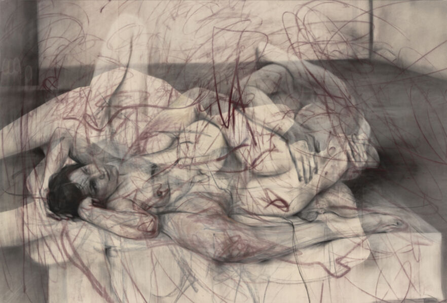 Jenny Saville, 'One out of two (symposium)', 2016