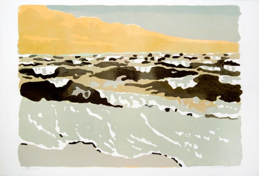 Fairfield Porter, 'Ocean II (The Gale)', 1974